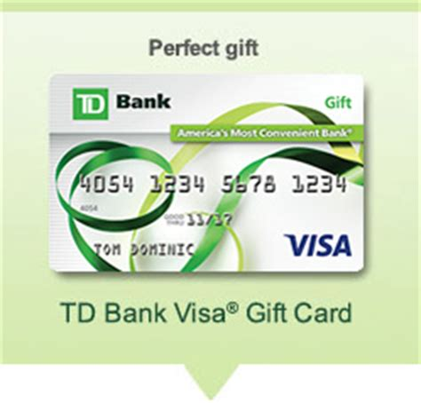 Td Bank Visa Gift Card - prepaid visa 174 cards