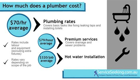 Plumbing Costs cost of a plumber 2013 14 serviceseeking