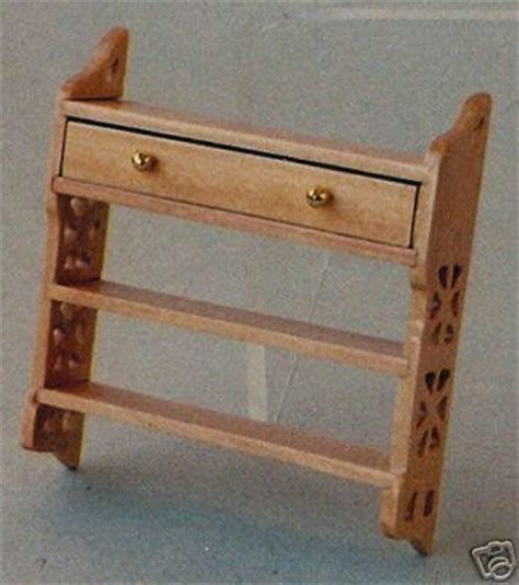 dolls house shelf unit df282p small wall shelf unit for dolls house from bromley craft products ltd