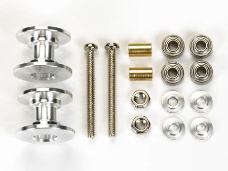 Tamiya 15398 Alumunium Rollers 13 12mm lightweight aluminum rollers 13 12mm