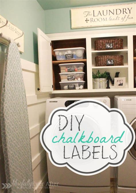 diy chalkboard labels ask top organizing