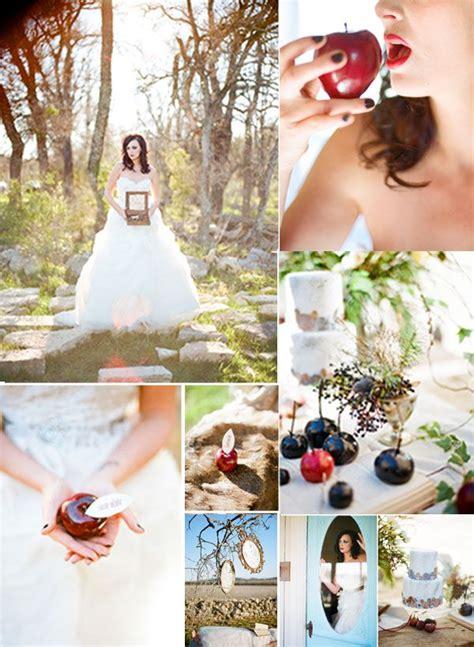 snow white tale wedding theme unique wedding themes pintere