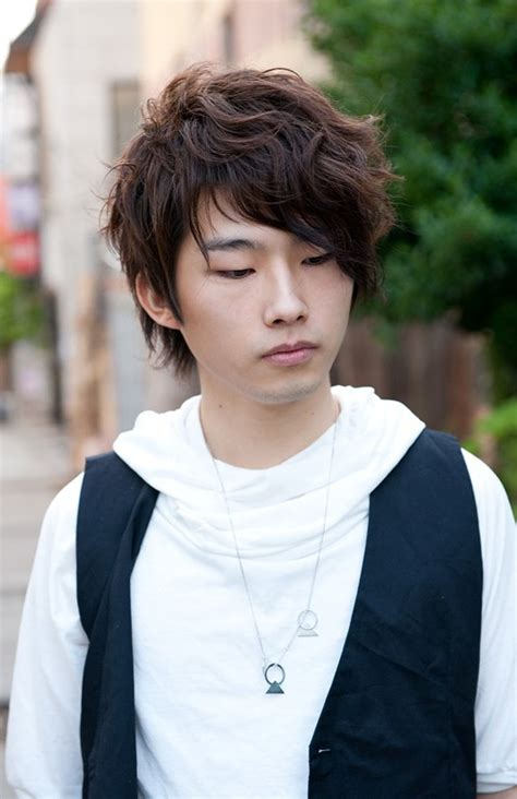 Men's Hairstyles: Korean Hairstyle For Men Curly, curly