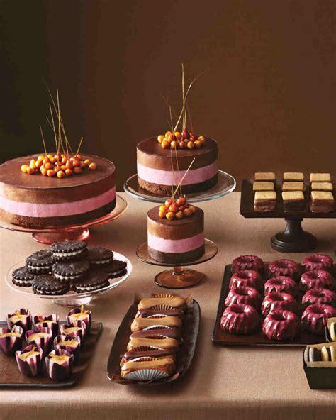 Small Candied Wedding Flower Decoration by Mini Chocolate Bundt Cakes Recipe Martha Stewart Weddings