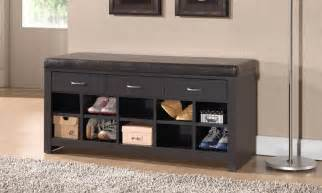 shoe storage with bench shoe storage cabinets benches groupon goods