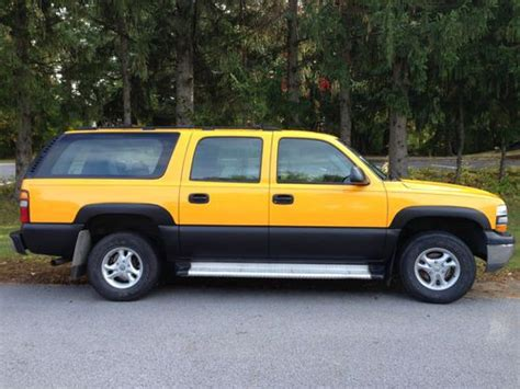 purchase used spectacular chevy suburban 9 seats school