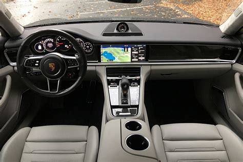 porsche panamera red interior 2017 porsche panamera turbo first drive digital trends