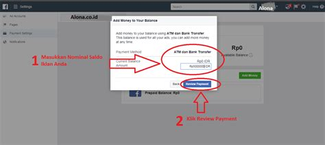 cara membuat iklan di facebook tanpa kartu kredit cara bayar iklan facebook dengan atm transfer tanpa kartu