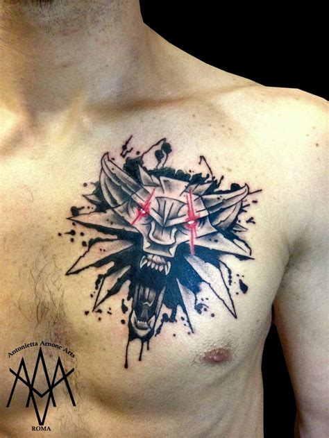 witcher tattoo best 25 witcher ideas on witcher