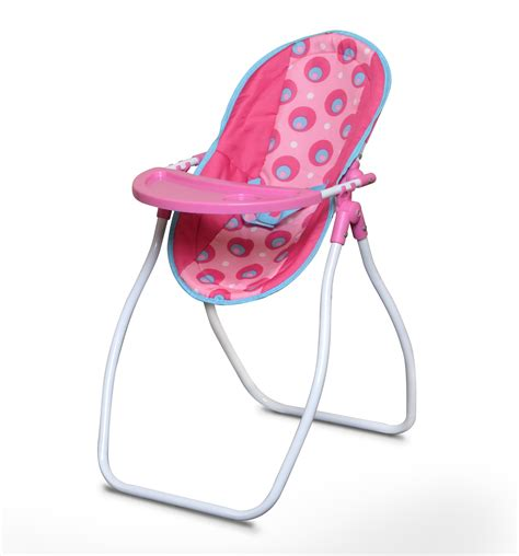 baby high chair swing combo highchair and swing carrier seat pink doll foldable rocker