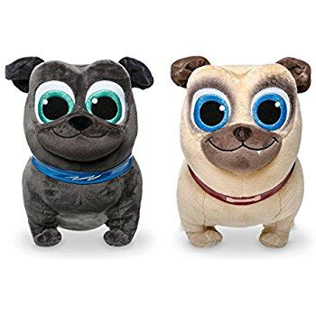 puppy pals stuffed animals disney collection puppy pals rolly 13 inch medium plush toys