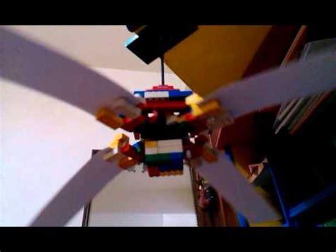 fans of lego lego cardboard ceiling fan