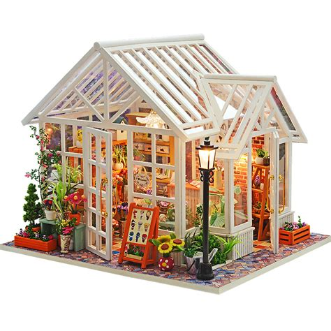 dolls house minitures assemble diy doll house toy wooden miniatura doll houses miniature dollhouse toys with furniture