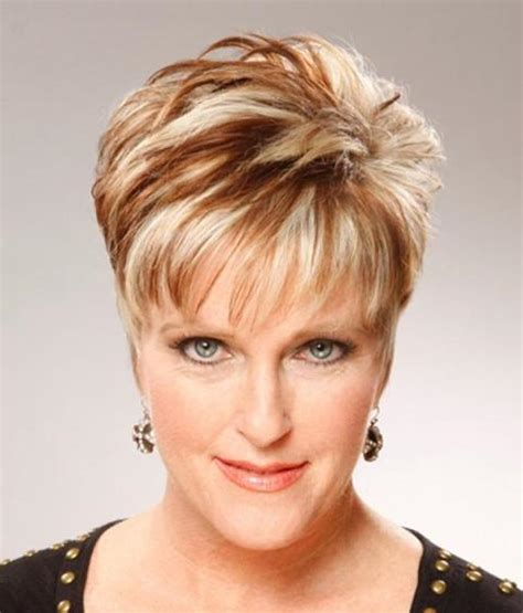 short hairstyles for women over 40 with thin fine hair and round fat face 19 fine looking short hairstyles with bangs pictures and