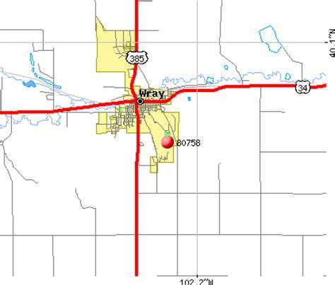 wray colorado map 80758 zip code wray colorado profile homes