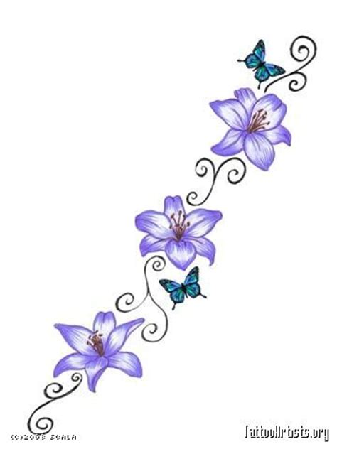 small flower vine tattoos vine tattoos and flower on