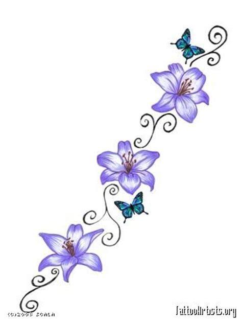 small flower vine tattoos vine tattoos and flower on