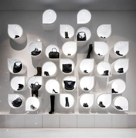 pattern wall display capsula multi brand store in budapest preserves hungarian