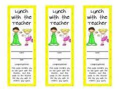 lunch pass template student on bag toppers treat