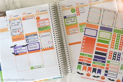 october printable planner stickers october planner stickers munchkins and the military