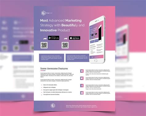 product promotion flyer template 18 popular psd promotional flyer