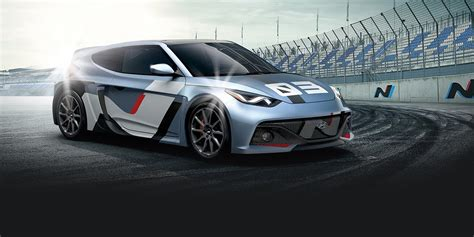 hyundai rm16 hyundai rm16 n racing concept gives veloster a new look