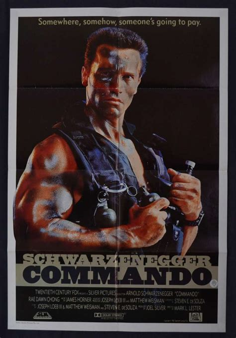 Supersize Mi Lano all about commando 1985 one sheet poster