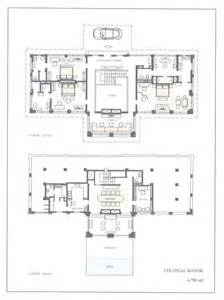 Colonial Luxury House Plans by Luxury Colonial House Floor Plans English Manor Floor
