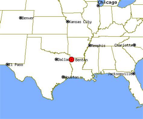 benton texas map benton profile benton la population crime map
