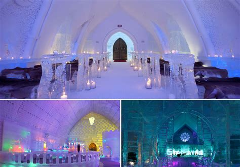 hotel de glace canada hotel de glace a work of made of and snow my best place around the world
