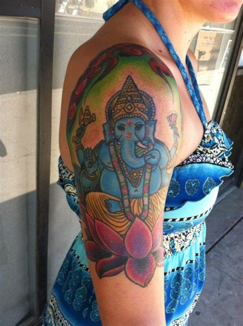 tattoo of ganesha god 92 lord ganesha tattoos on shoulder