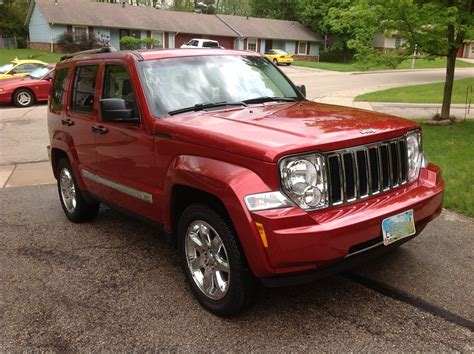red jeep liberty 2008 2008 jeep liberty pictures cargurus