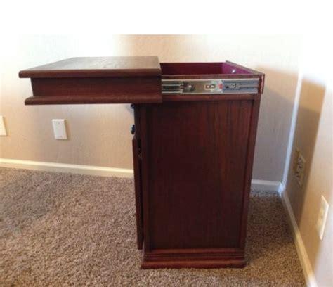 hidden compartment nightstand secret compartment nightstand stashvault