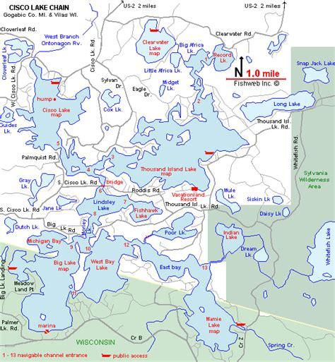 michigan dnr lake maps lake maps michigan n 252 rnberg