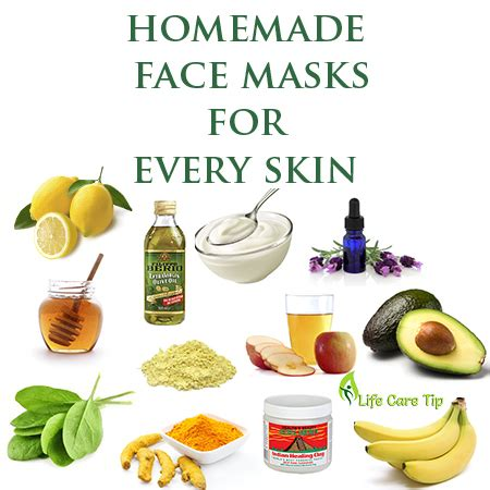 best diy masks 4 best mask for every skin care tips