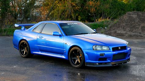 nissan skyline r34 modified 1999 nissan skyline r34 gtr 6 speed manual for sale