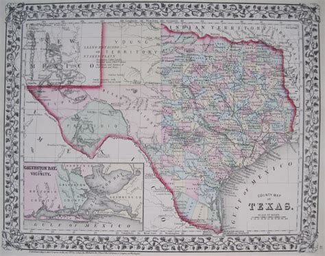 original map of texas antique maps of texas
