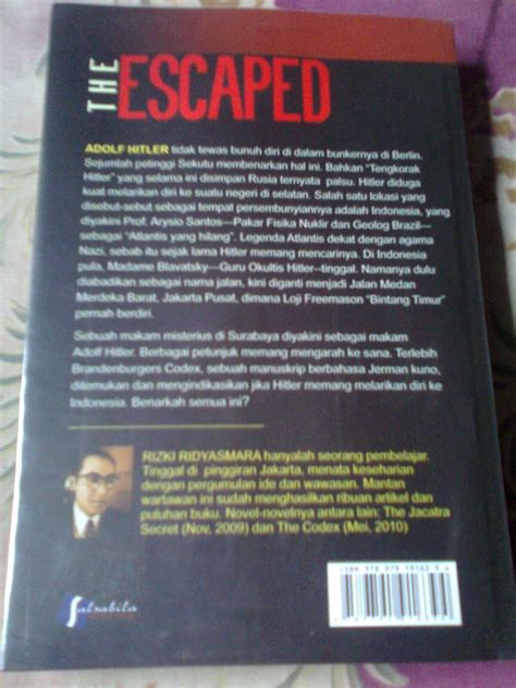 Novel Misteri Smara Gd Misteri Cincin Yang Hilang keep reading keep writing keep resensi novel the escaped misteri kuburan adolf