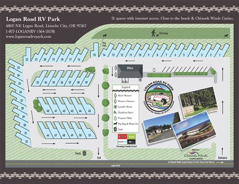 Park Map Logan Road Rv Park Rv Park Business Plan Template