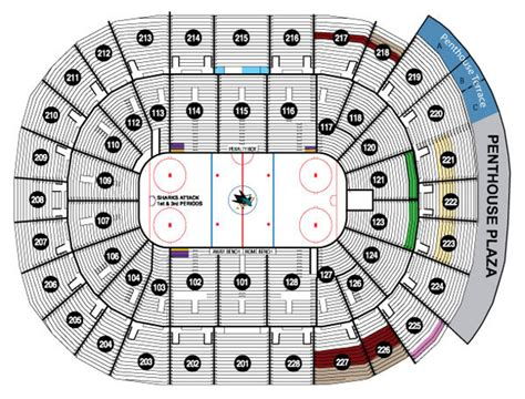 san jose sharks map san jose sharks collecting guide tickets jerseys
