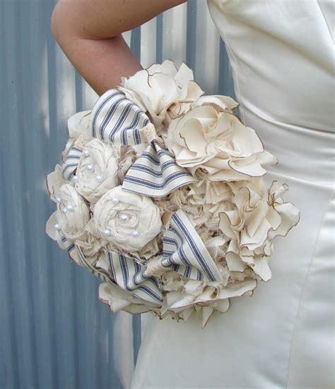 fiori in tessuto per abbigliamento bouquet da sposa in tessuto fatti a mano sposalicious