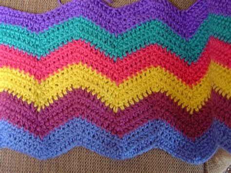 easy zig zag afghan pattern easy ripple pattern mycrochet ripples 2 pinterest