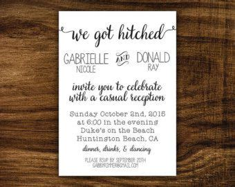invite wording for wedding reception only wedding reception only invitations navy blue gold rustic