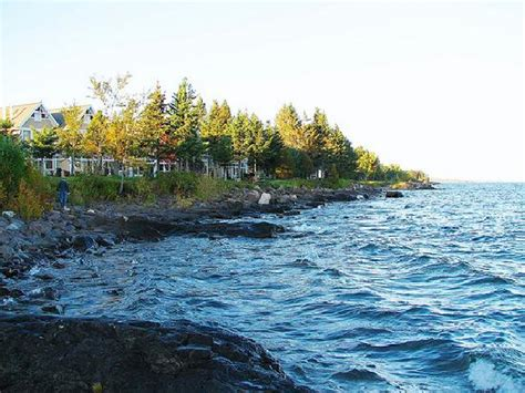 lake superior cottages view from our cottage picture of larsmont cottages on