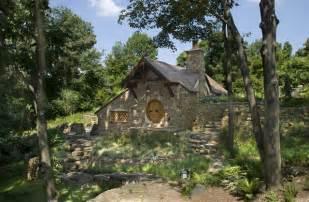 hobbit style homes hobbit house rustic exterior philadelphia by