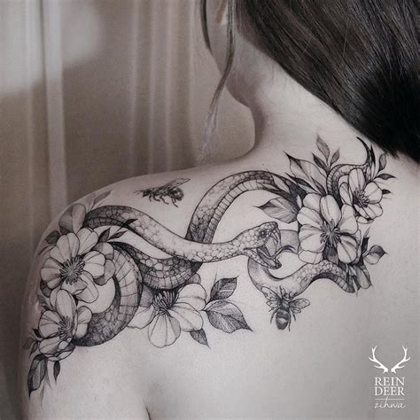flower tattoo representation amazing snake tattoo meaning and symbolism of snake