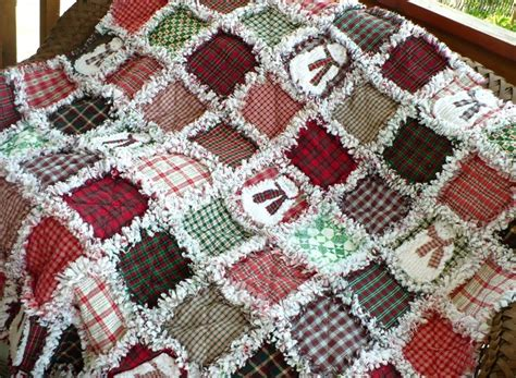 Snowman Rag Quilt Pattern by Raggedy Snowmen Quilt Large Quilts
