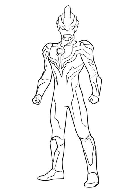Ultraman Untuk Mewarnai • BELAJARMEWARNAI.info