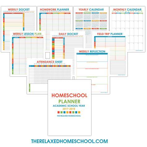 homeschool planner template free homeschool worksheets for your children