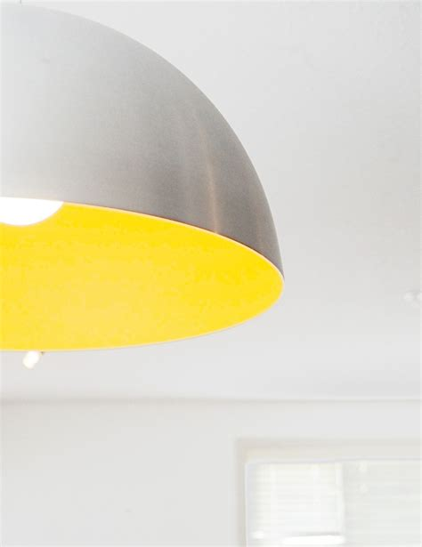 Yellow Pendant Light Yellow Large Scale Pendant Light J A Great Room